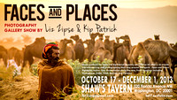Faces and Places Show Poster